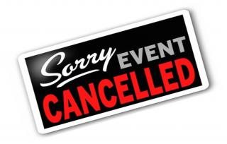 REGIONAL CONVENTION CANCELLED