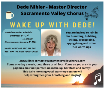 SVC'S WAKE UP WITH DEDE - VOCAL WARMUPS