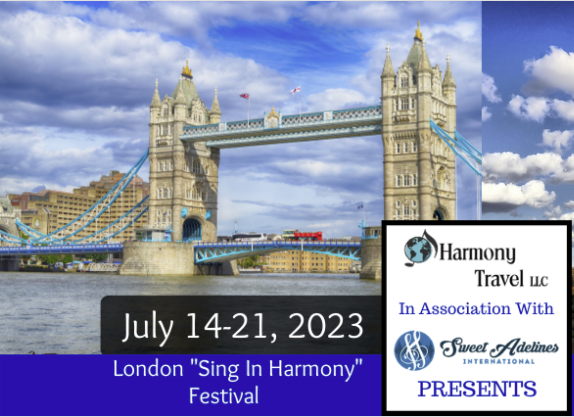 "Rescheduled - LONDON ""SING IN HARMONY"" FESTIVAL - TOUR"