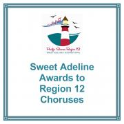 Sweet Adeline Competition Awards to Region 12 Choruses